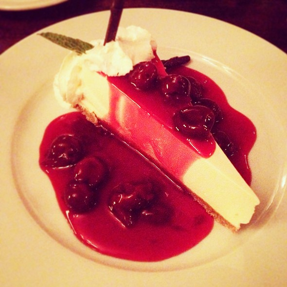 Port Cherry Cheesecake - Sabor Restaurant, Edmonton, AB