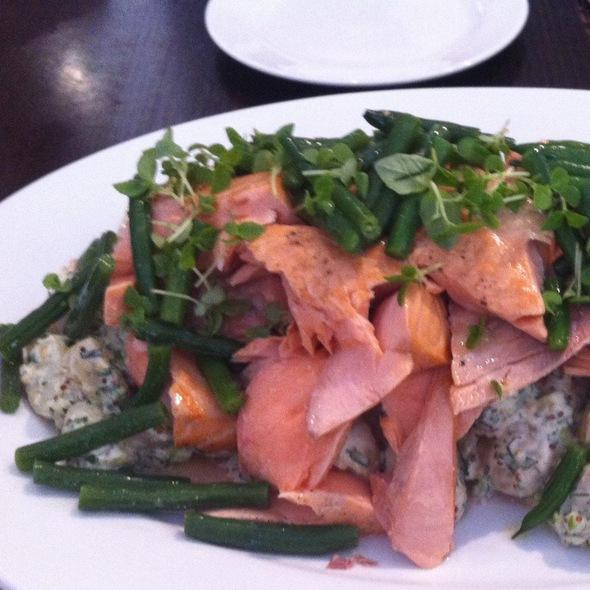 Poached Salmon @ Cafe Sopra @ Fratelli Fresh