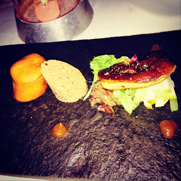 Duck Rilette With Foie Gras @ Warisan Restaurant Bar & Galleries