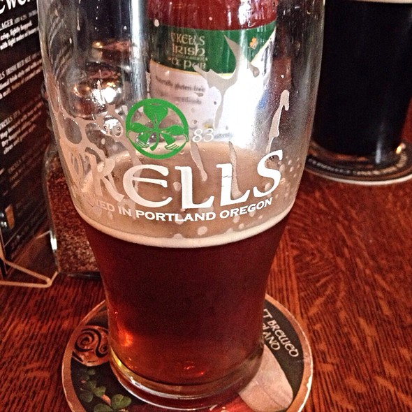 Kells Irish Red Ale - Kells Irish Restaurant & Pub, Portland, OR