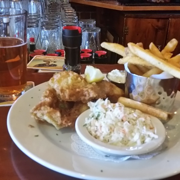 Smithwick's Curry Fish & Chips @ The Barley House Restaurant & Tavern