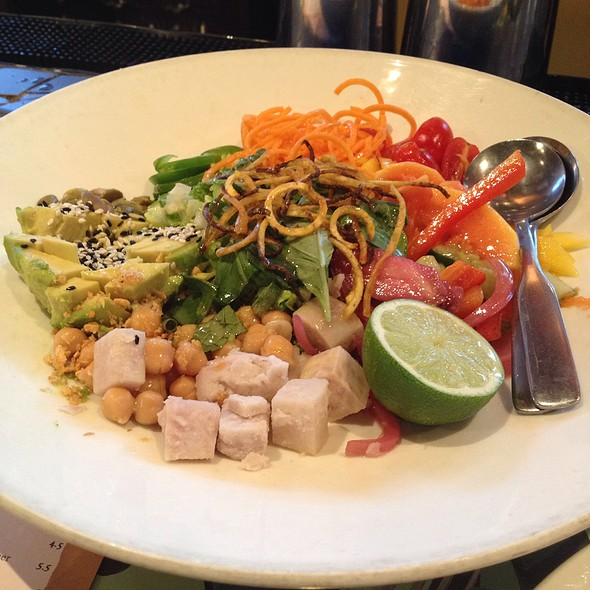Rainbow Caribbean Salad - Kaya, Pittsburgh, PA