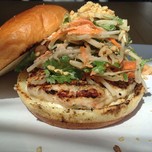 April Burger Of The Month: Shrimp Pad Thai