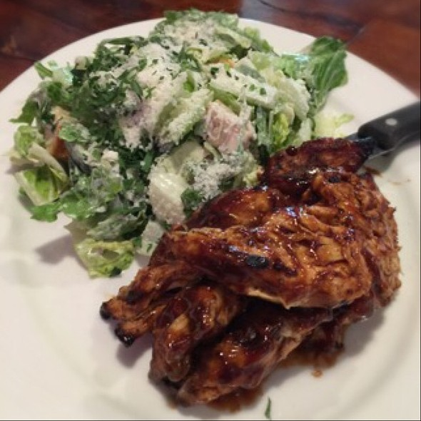 Bbq Chicken & Caesar