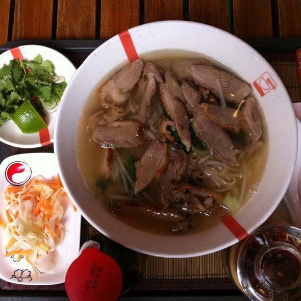 Pho With Duck @ Ra'mien