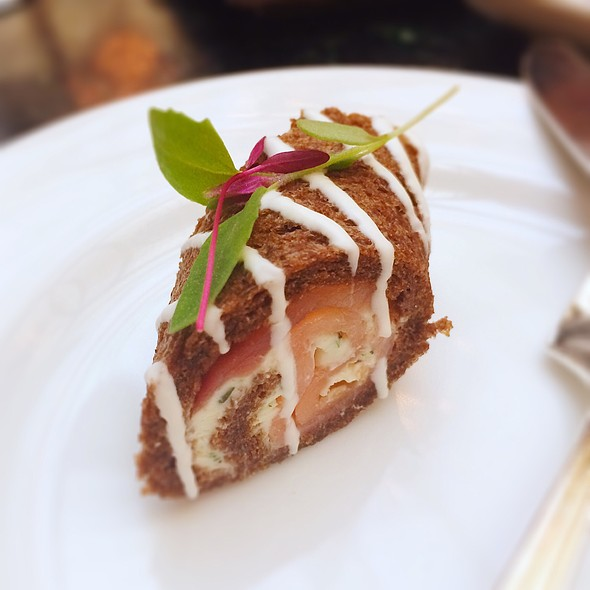 Smoked Salmon Roulade - The Garden Court, San Francisco, CA