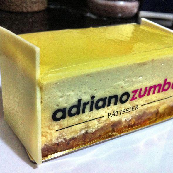 Lemon-flavoured cake @ Adriano Zumbo Patissier