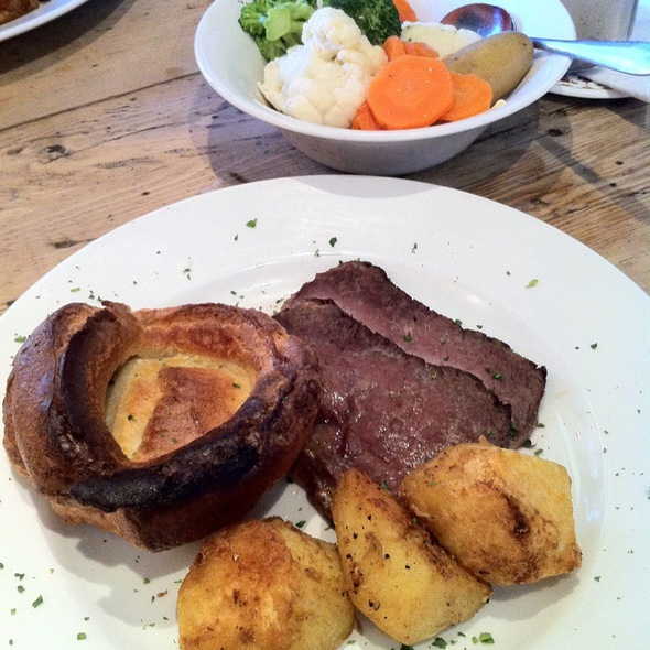 Roast Beef @ Telford's Warehouse