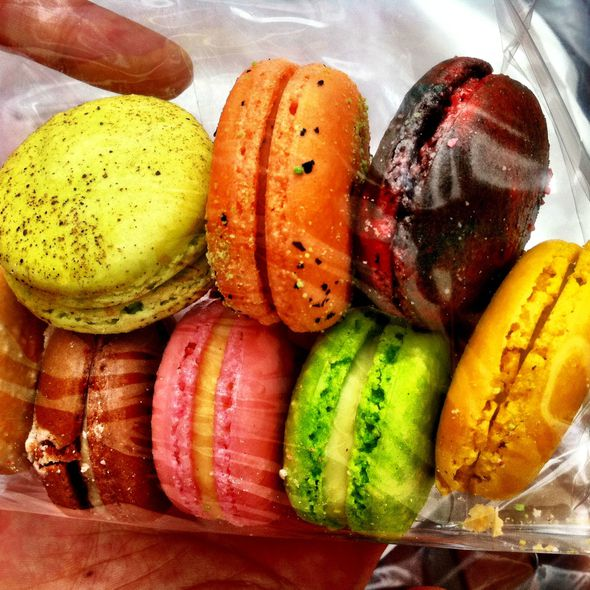 Colourful Macarons @ Adriano Zumbo Patissier