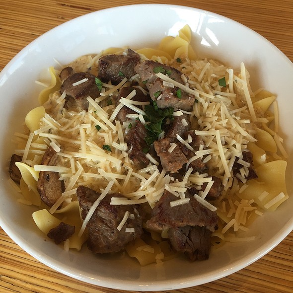 Steak Stroganoff @ Noodles & Company
