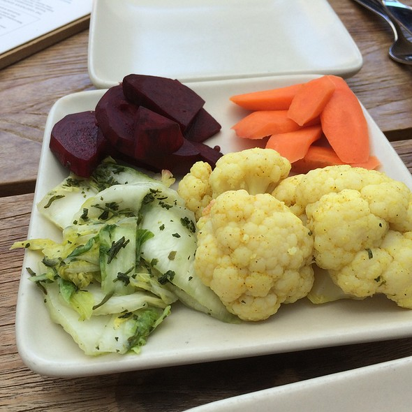 Pickled Vegetable Plate