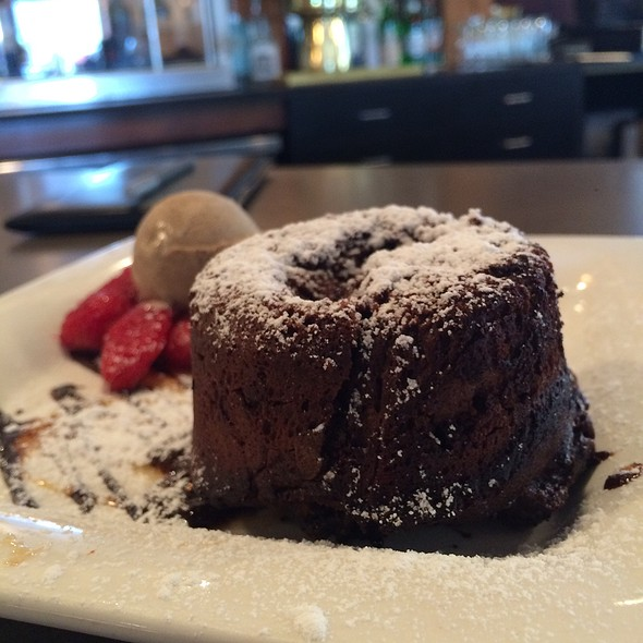 Espresso Molten Chocolate Cake - Tannin Wine Bar and Kitchen, Kansas City, MO