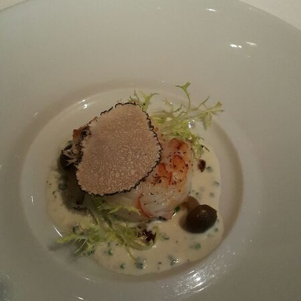Lagostins With White Truffles