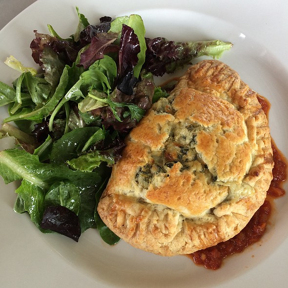 Spinach Artichoke Turnover at Marche Artisan Foods