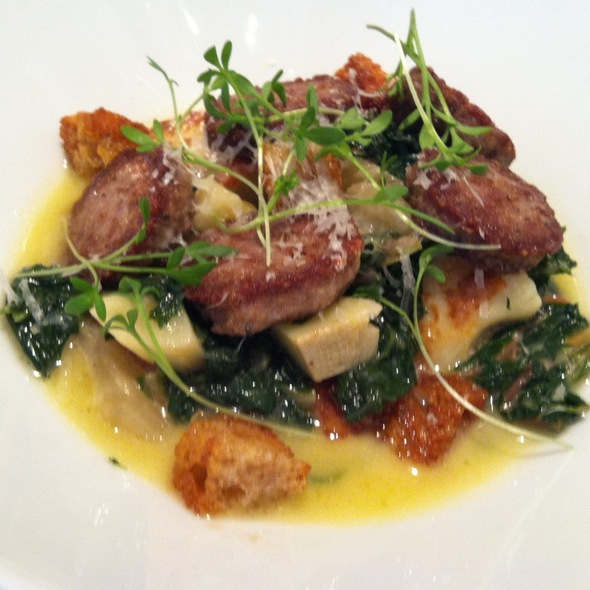 Gnocchi With Housemade Lamb Sausage @ Barclay Prime