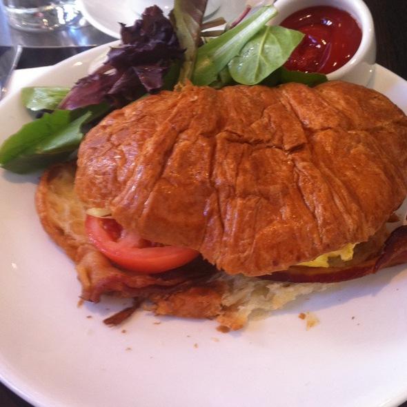 Breakfast Croissant Sandwich @ Cafeteria