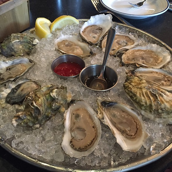 Oysters @ Island Creek Oyster Bar