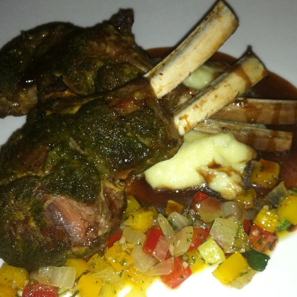 Herbs Crusted Rack Of Lamb @ Aston