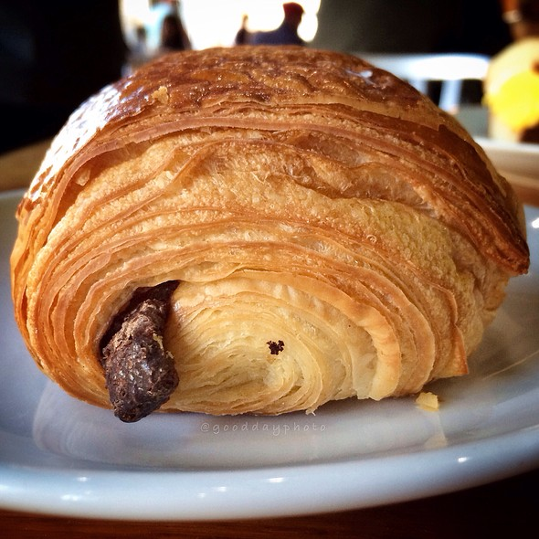 Chocolate Croissant @ OCF Coffee House
