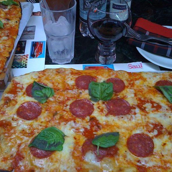 Pizza Alla Diavola @ Casa Saul
