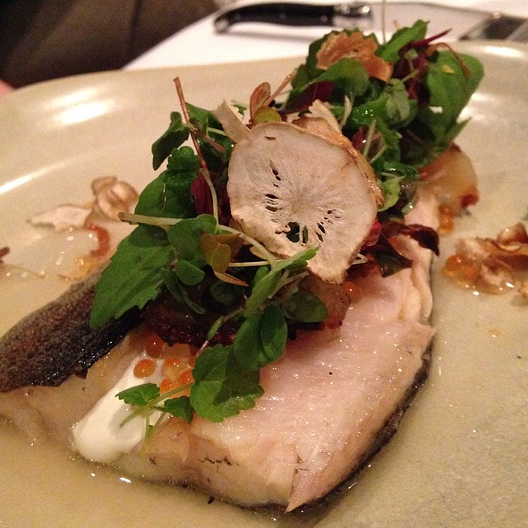 Trout With Sunchoke