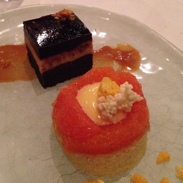 Peanut Butter & Orange Dessert
