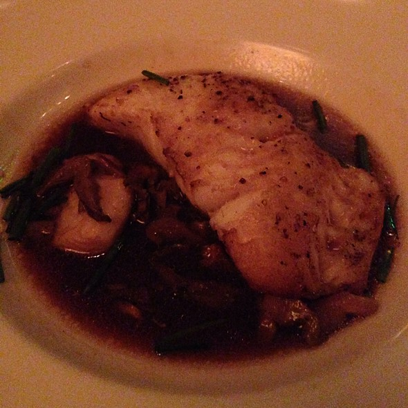 Chilean Sea Bass With Mushroom Soy Broth - The Capital Grille - Fort Worth, Fort Worth, TX