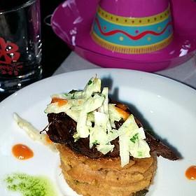 Short Ribs Empanada