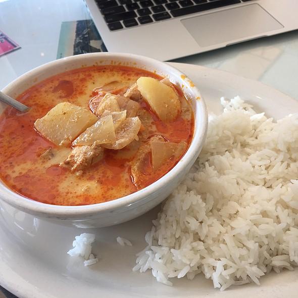 Curry Soup @ Le Monde Bakery