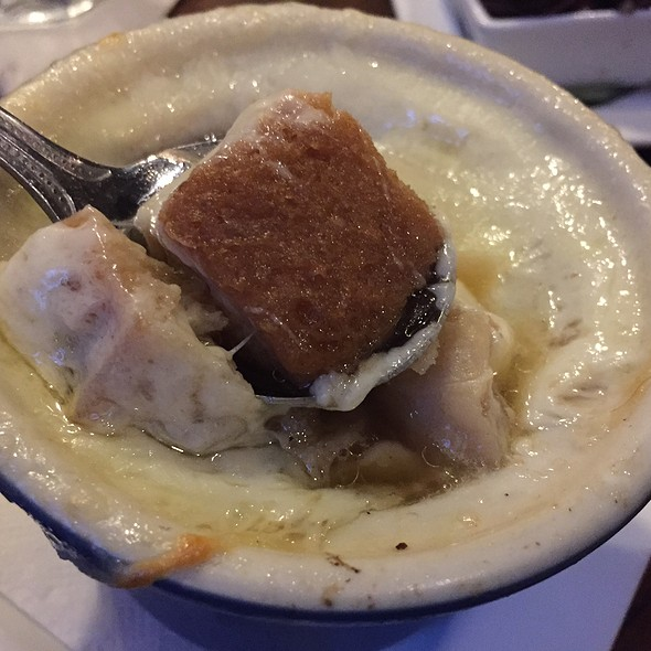 French Onion Soup @ 75th Street Brewery