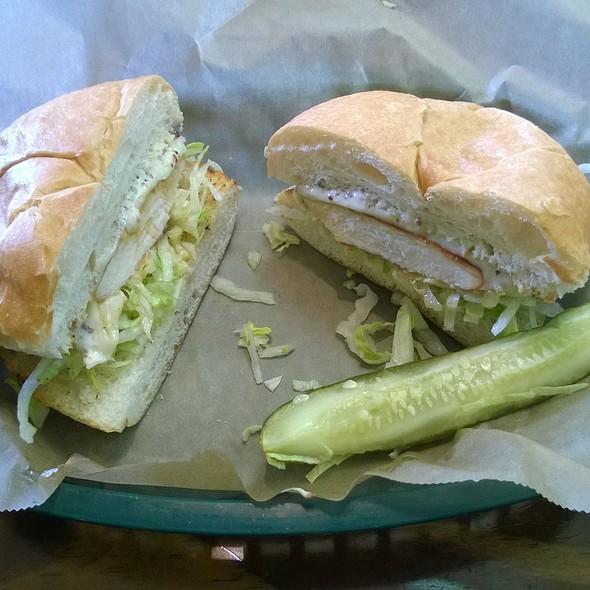 Teriyaki Chicken Sandwich @ Milners Cafe & Catering