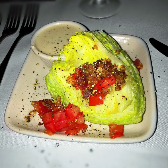 Wedge Salad - Cool River Cafe - Dallas, Irving, TX