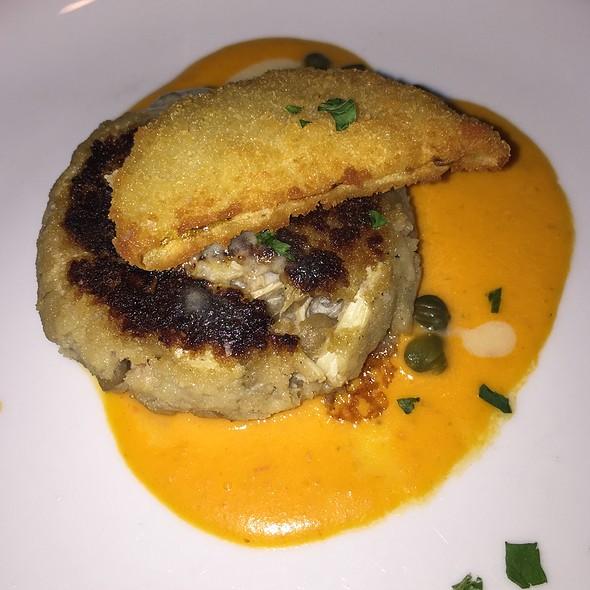 Petite Crab Cake A L'aubergine - A La Provence, Tallahassee, FL