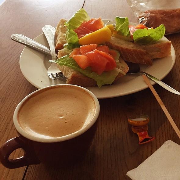 Gravlax Sandwich @ Hopper Coffee