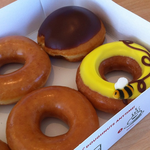 Doughnuts @ Krispy Kreme