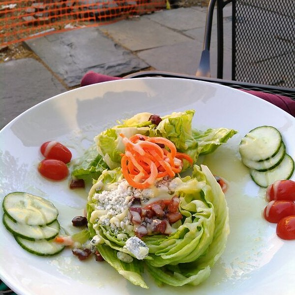 Wedge Salad @ Corked Wine Bar & Steak House