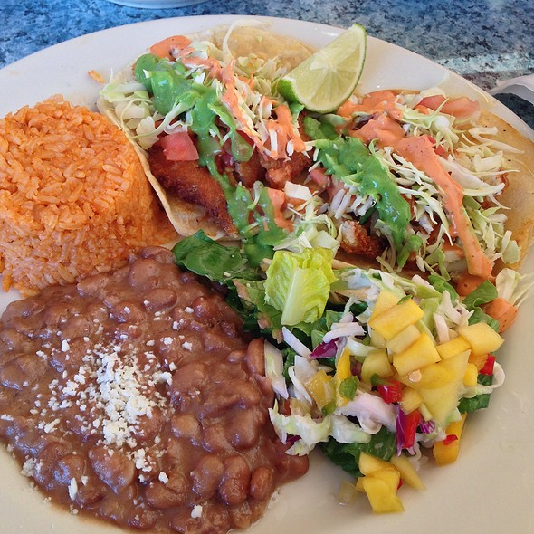 Fish Taco Plate