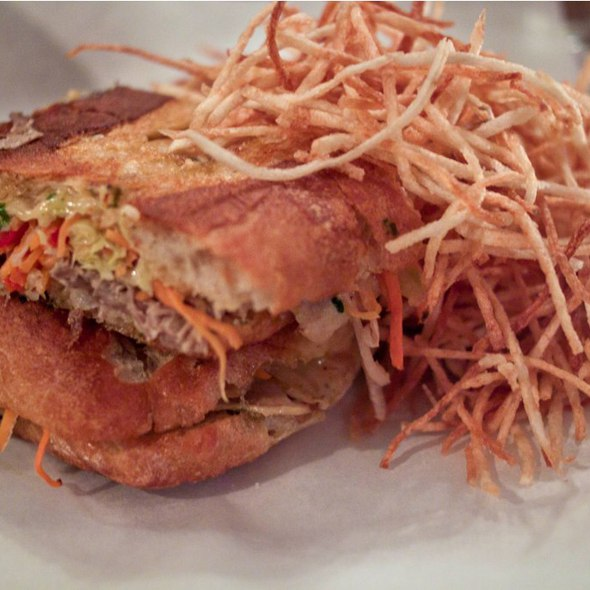 Roast Pork Sandwich @ Fedora