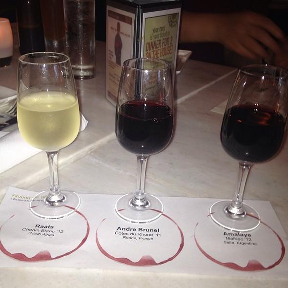 International Wine Flight - Nage Restaurant, Washington, DC