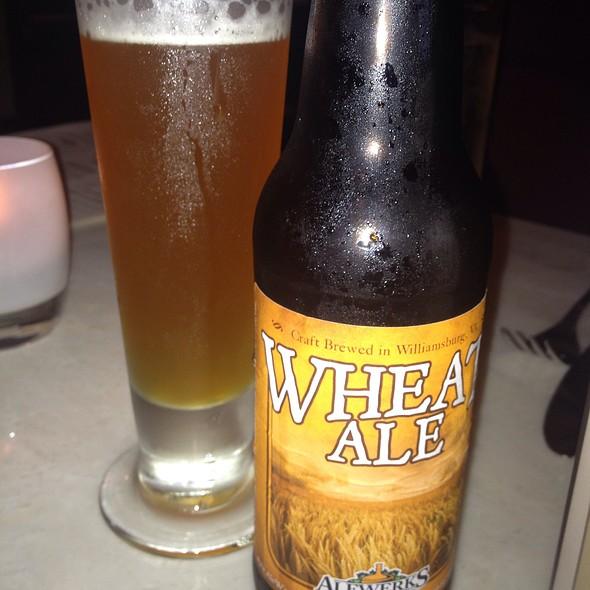 Alewerks Wheat Ale - Nage Restaurant, Washington, DC