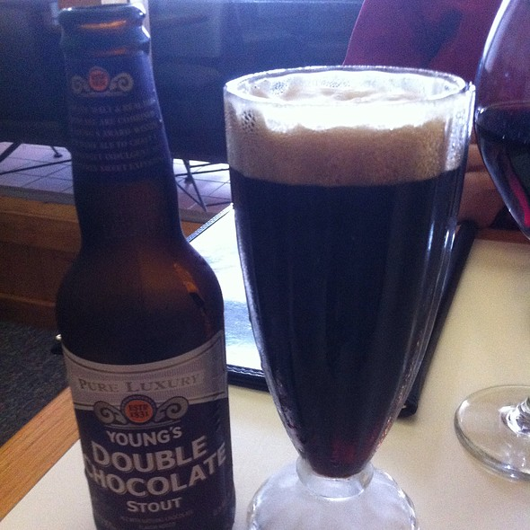 Young's Double Chocolate Stout @ Pepperoni Grill