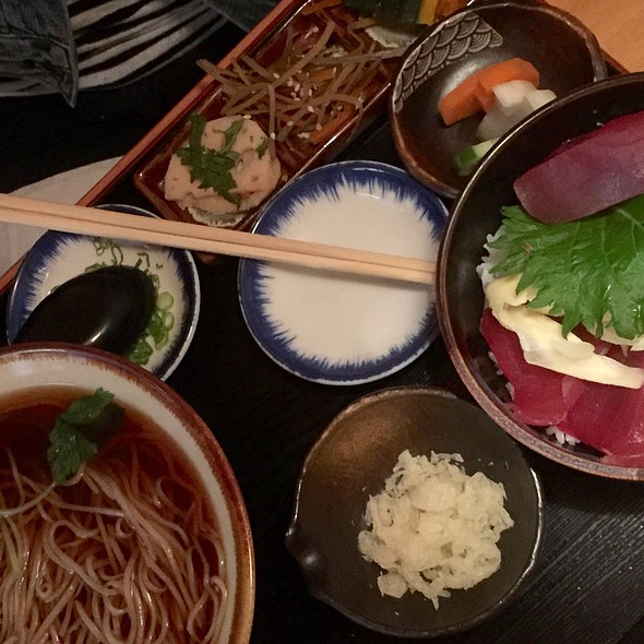 Maguro Don Lunch Set