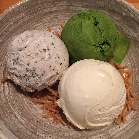 Ice Cream Trio