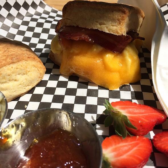 Bacon Breakfast Biscuit