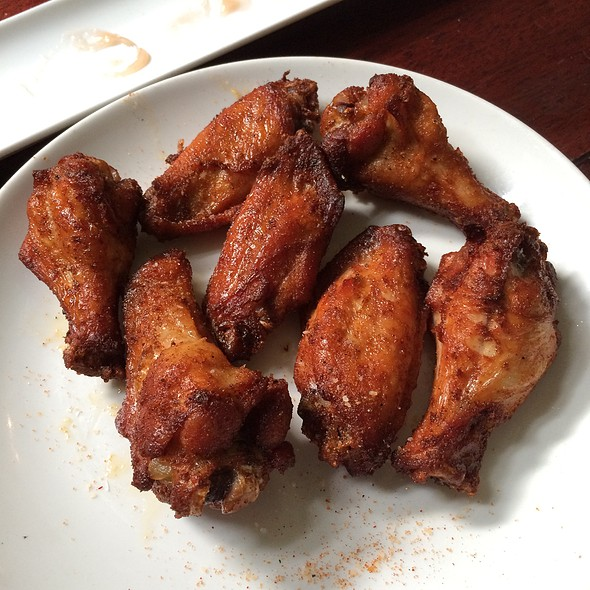 Dry Rubbed Wings - EdgeWild Restaurant & Winery