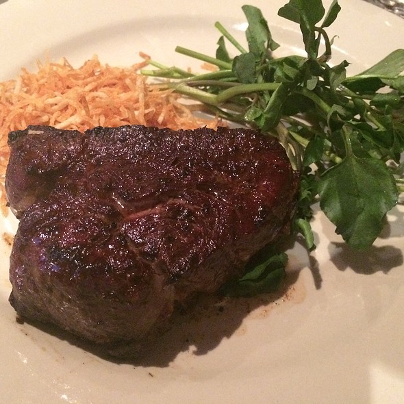 Filet Mignon - Bobby Van's Grill - New York Ave., Washington, DC