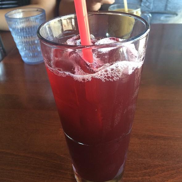 Hibiscus Tea & Lemonade at Hugos Restaurant