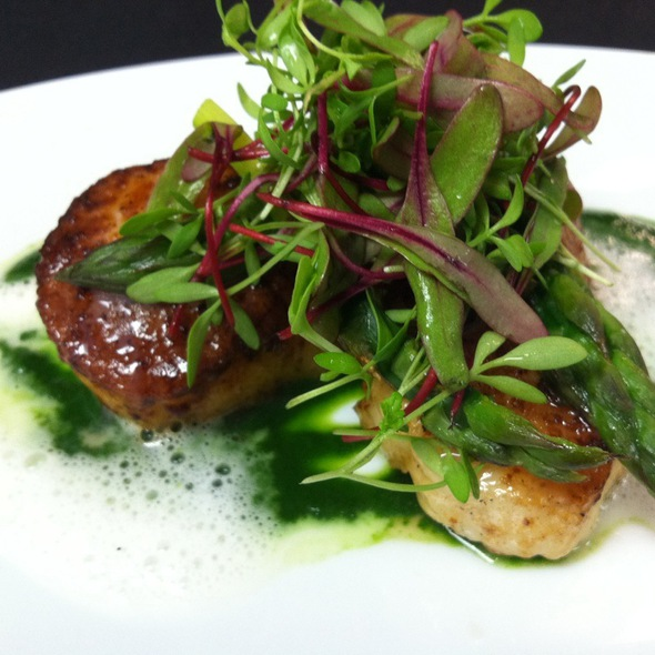 Seared Sea Scallops @ Barclay Prime
