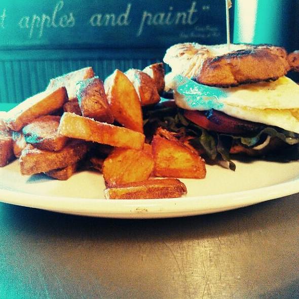 Bacon Lettuce Avocado Tomato Sandwich  @ Capitol Cider