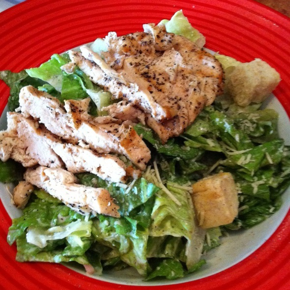 Grilled Chicken Caeser Salad